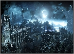 Dark Souls III: Ashes of Ariandel, Zamki, Most, Noc, Księżyc